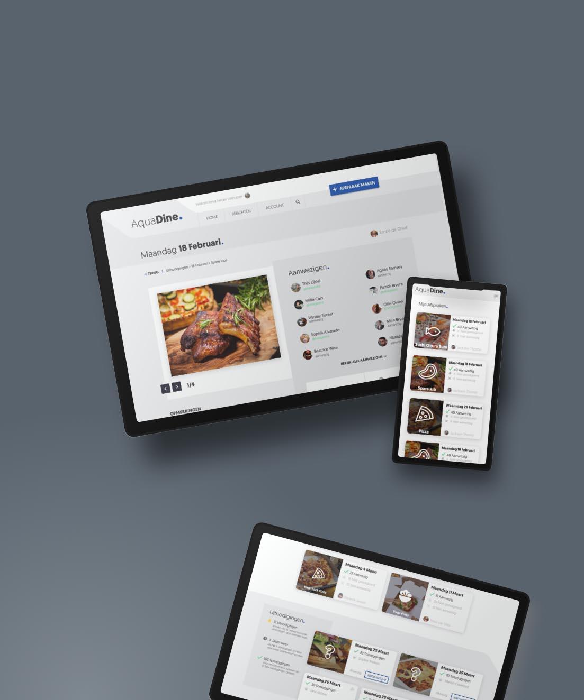 Aquadine                                                     Online web app platform  door SOO Online.